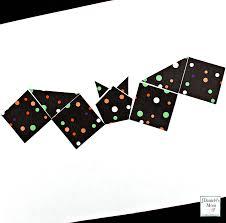 halloween bat shape craft that explores shapes