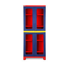 buy nilkamal fb3 freedom cupboard pepsi blue bright red yellow