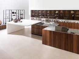 contemporary kitchen wood veneer island stunning porcelanosa