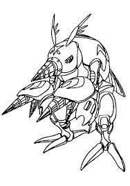 digimon coloring pages 47 gif 700 1000 lineart digimon