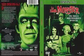 imagenes de la familia herman monster carátula caratula de la familia monster primera temporada discos 1 2