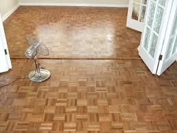 parquet flooring repairs and sanding dining room