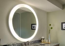 bathroom lighting marvelous lighted bathroom mirror design