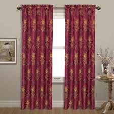 Magenta Curtain Panels Window Treatments At Modnique Com