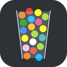 100 balls tap to drop the color android apps on