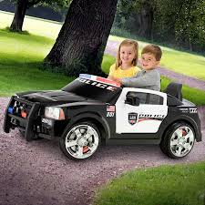 toddler motorized car amazon com kid trax dodge charger pursuit 12v police car kt1111wm