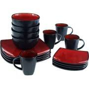10 strawberry square banquet 45 dinnerware set