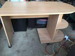 really nice computer desk with wheels priced to sell in great