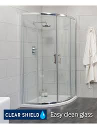 cello 900 quadrant and jt ultracast shower tray shower door and