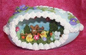 panoramic sugar easter eggs baking steps for panoramic sugar easter egg
