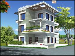 Free Floor Plan by 5 Bedroom Modern 3 Floor House Design Area 192 Sq Mts 12m X
