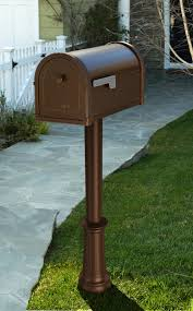 Bronze Wall Mount Mailbox Outdoor Architectural Mailboxes Lockable Mail Box Beach House