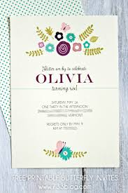 butterfly invitations printable butterfly birthday invitation inspiration made simple