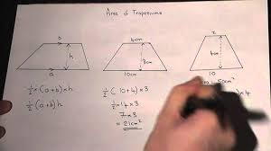 Worksheet Works Calculating Area And Perimeter Answers Area Of A Trapezium How To Calculate The Area Easily Maths