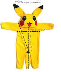 Pikachu Costume The 25 Best Baby Pikachu Costume Ideas On Pinterest Pikachu