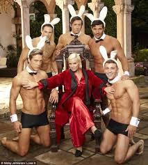 Hugh Hefner Playboy Bunny Halloween Costume Kerry Katona Dresses Hugh Hefner Reveals Hasn U0027t