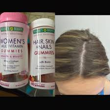 vitamins for hair over 50 nature s bounty hair skin nails womens multivitamin gummy review