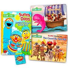 amazon sesame street elmo pop book kids toddlers