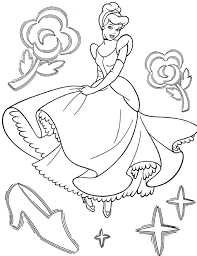 cinderella coloring minister coloring