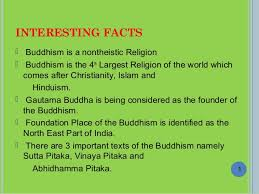 interesting facts and numbers in buddhism