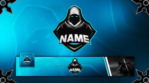 free gaming clan mascot logo banner avatar template youtube