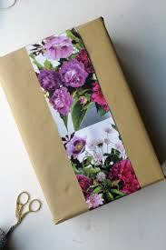 floral gift wrapping paper 100 flower gift wrap diy stylish and sustainable gift