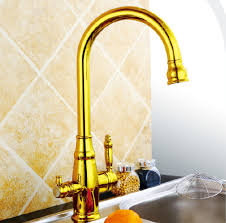 three kitchen faucets gold kitchen faucet mixer ce rohs approval ro faucet golden