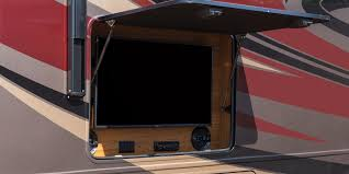 Outdoor Entertainment Center by 2016 Precept Class A Motorhomes Jayco Inc
