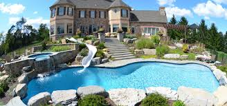 pool design decor backyard design with pool design ideas and water slide also