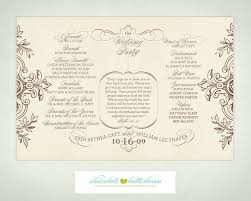 vintage wedding programs free printable wedding programs templates wedding program that