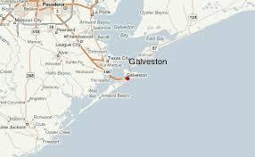 map of galveston galveston location guide