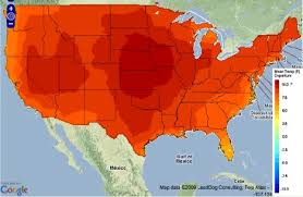 us climate map nasa maps reveal how the will need to adapt to climate