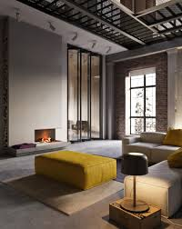 Ukrainian Apartment Interiors Musician by Ruslan Kovalchuk Designs An Industrial Style Apartment In Kiev