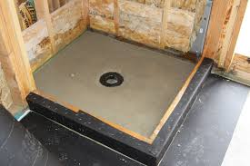 mopping shower pans nest appeal