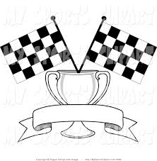 Finish Line Flag Formula 1 Clipart Checkered Flag Pencil And In Color Formula 1