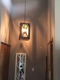 Foyer Light Fixture Diy Upcycled Entry Pendant Light Hometalk