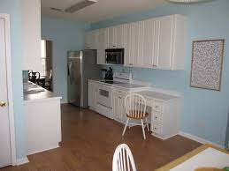 Blue Kitchen Designs Kitchen The Warmth Of The Old Floor Anchors The Crisp Blue And