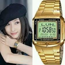 Jam Tangan Casio Gold jam tangan casio db 360 gold original bandar lung kota jam tangan