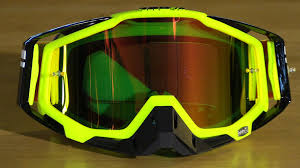 100 motocross goggles 100 percent racecraft neon sign motorcycle goggles review youtube