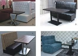 Modern Restaurant Furniture by Modern Real Leather Circle Restaurant Booth Seating Buy Modern