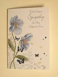 condolence cards sympathy cards condolence cards deepest sympathy card quality