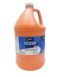 sax tempera paint orange specialty marketplace