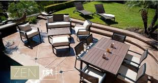 Polywood Outdoor Furniture Reviews by Rst Outdoor Zen Patio Furniture Collection Review Discount Patio