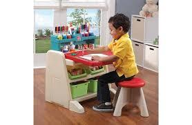 flip and doodle desk step2 flip doodle easel desk with stool target