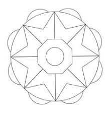 circular mandala kids coloring pages free colouring pictures