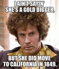 Gold Memes - i aint saying shes a gold digger history geek pinterest gold