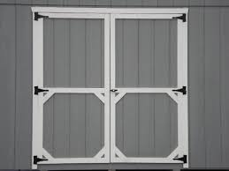 Exterior Shed Doors Shed Into A Coop My Summer Project Plywood Doors And