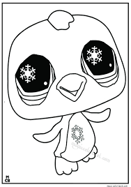 littlest petshop coloring pages free 17