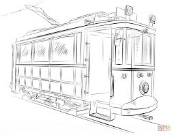 trains coloring pages free coloring pages