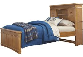 austin peanut 3 pc twin bookcase bed beds light wood